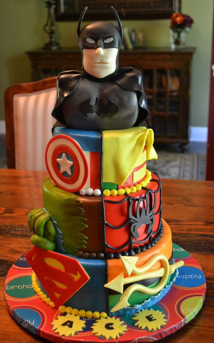 Best ideas about Superhero Birthday Cake . Save or Pin 78 images about Super hero Party on Pinterest Now.