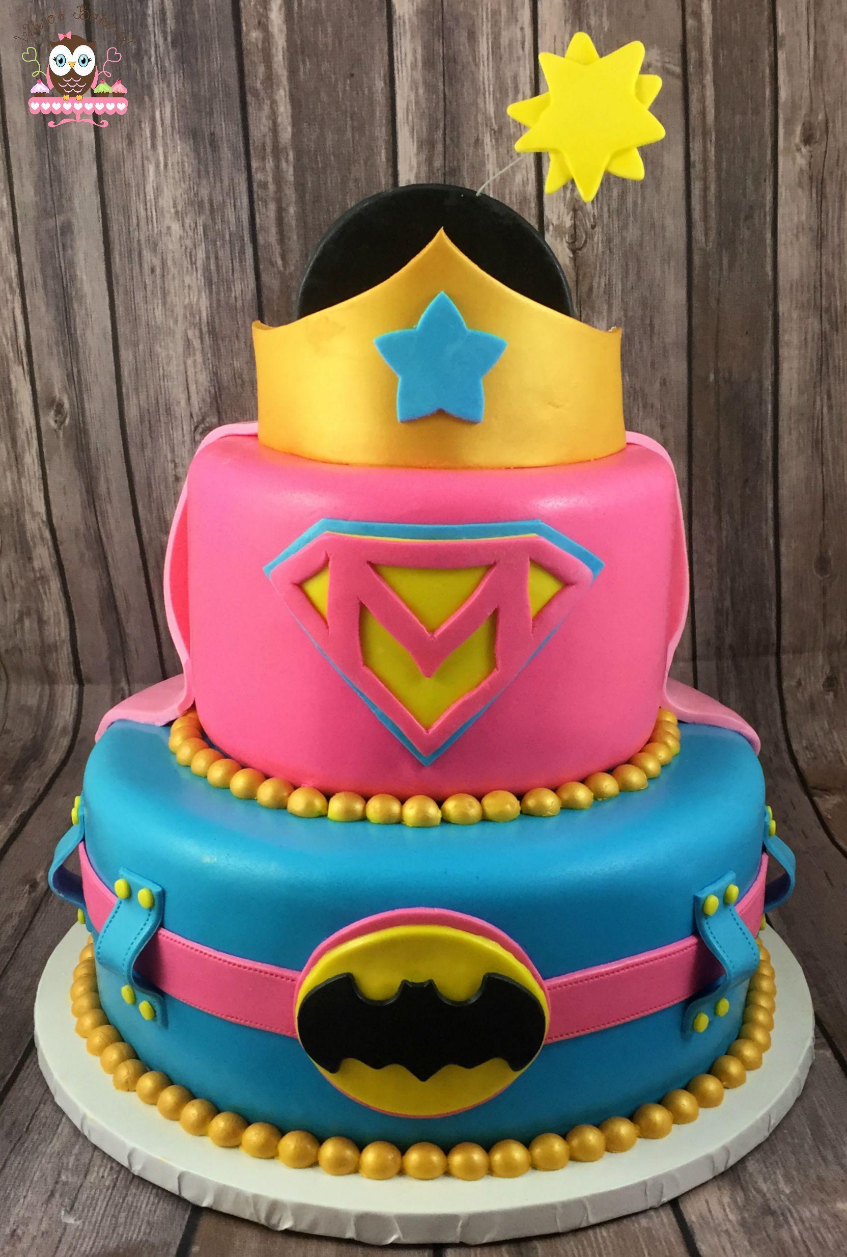 Best ideas about Superhero Birthday Cake . Save or Pin Superhero cake Girl Superhero Cake Pink superhero Now.