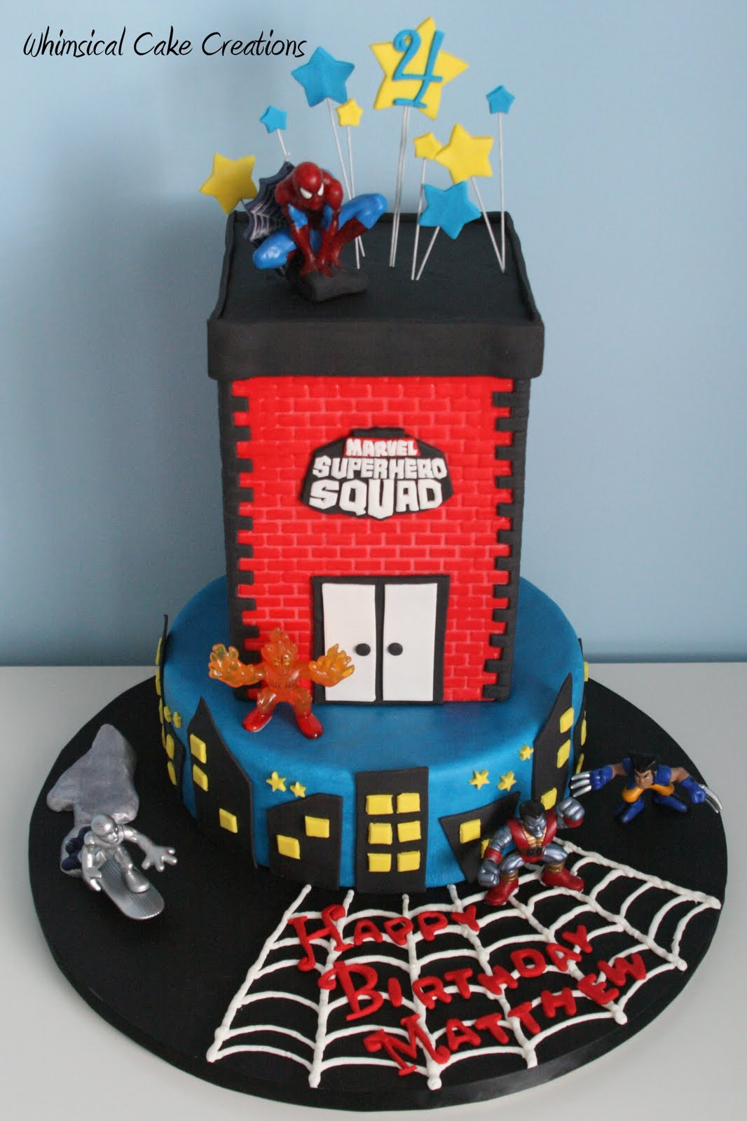 Best ideas about Superhero Birthday Cake . Save or Pin WhimsicalCreations Super Hero Squad Birthday Cake Now.