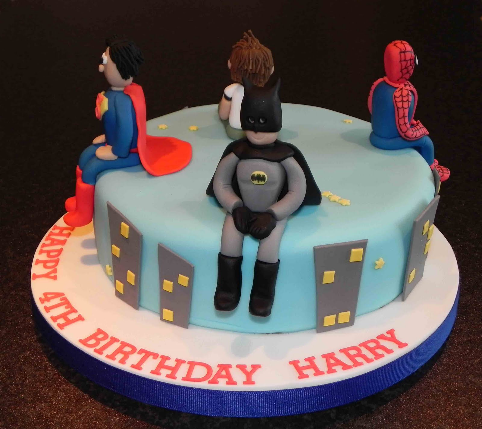 Best ideas about Superhero Birthday Cake . Save or Pin Cake by Lisa Price Super Hero cake Now.