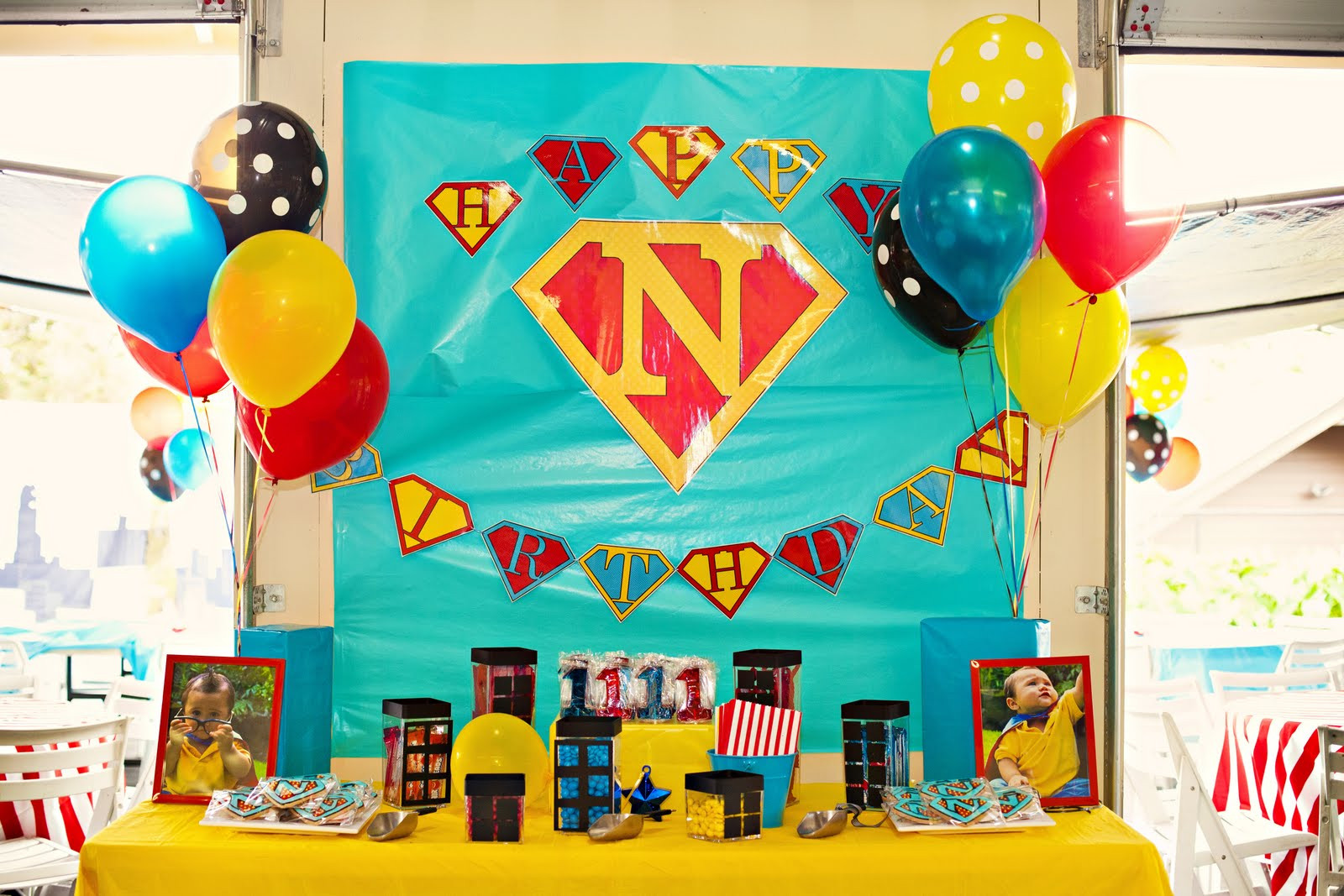 Best ideas about Superhero Birthday Decorations . Save or Pin Kara s Party Ideas Superhero Birthday Party My Little Love Now.