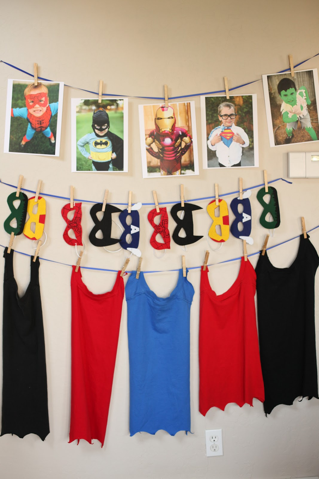 Best ideas about Superhero Birthday Decorations . Save or Pin Superhero Birthday Party Decorations and Games Now.