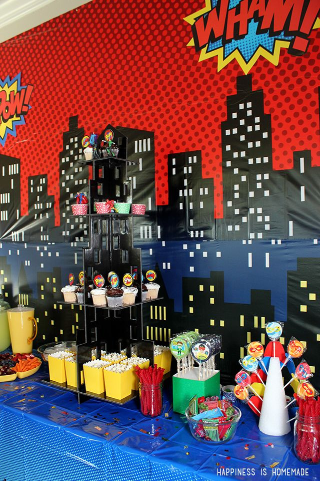 Best ideas about Superhero Birthday Decorations . Save or Pin 96 best images about Hero Central VBS 2017 on Pinterest Now.