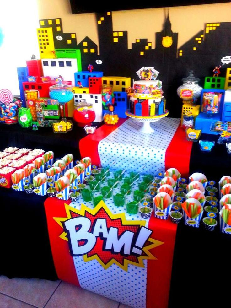Best ideas about Superhero Birthday Decorations . Save or Pin Best 25 Pop art party ideas on Pinterest Now.