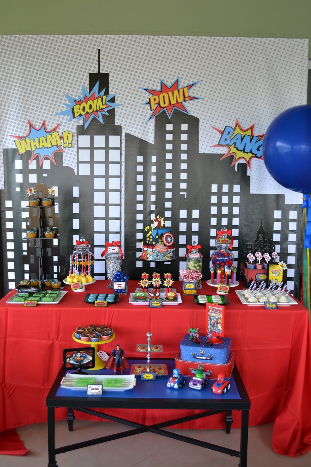 Best ideas about Superhero Birthday Decorations . Save or Pin Partylicious Events PR Superhero Party Now.