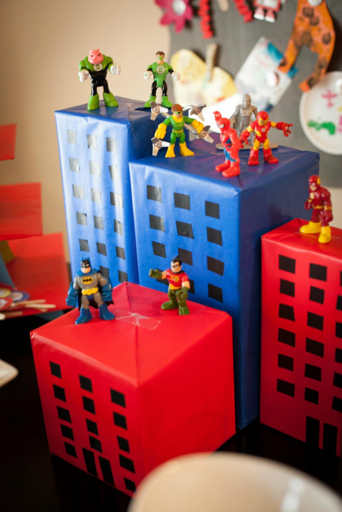 Best ideas about Superhero Birthday Decorations . Save or Pin Superhero Party Now.