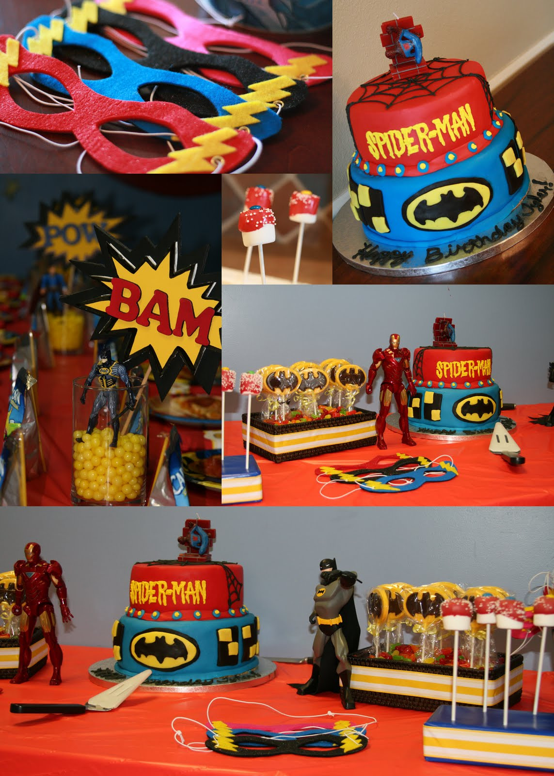 Best ideas about Superhero Birthday Decorations . Save or Pin Unique Card Designs Superhero Birthday Party Now.