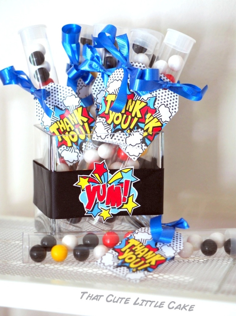 Best ideas about Superhero Birthday Decorations . Save or Pin A Pow Wow Superhero Birthday Party Party Ideas Now.