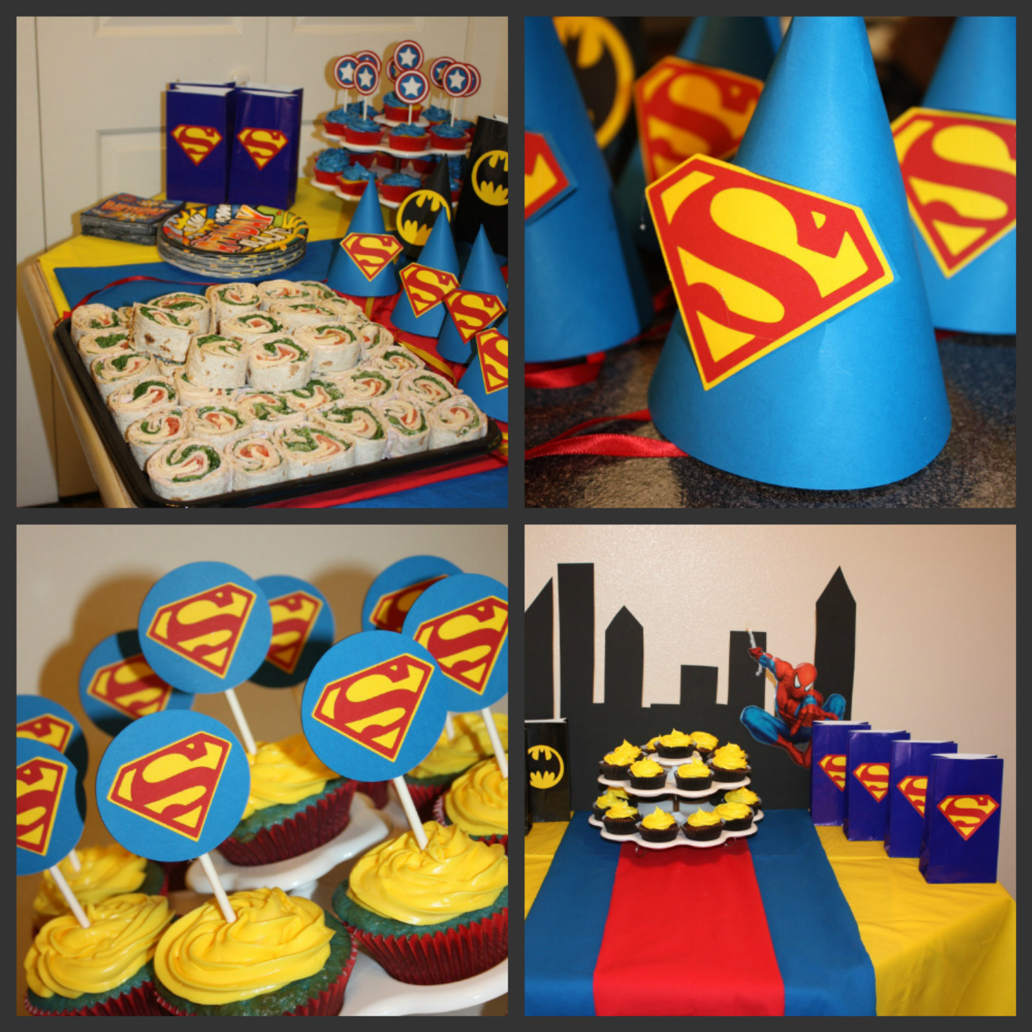 Best ideas about Superhero Birthday Decorations . Save or Pin Ethan's 3rd Birthday – Super Hero Party Ideas Now.