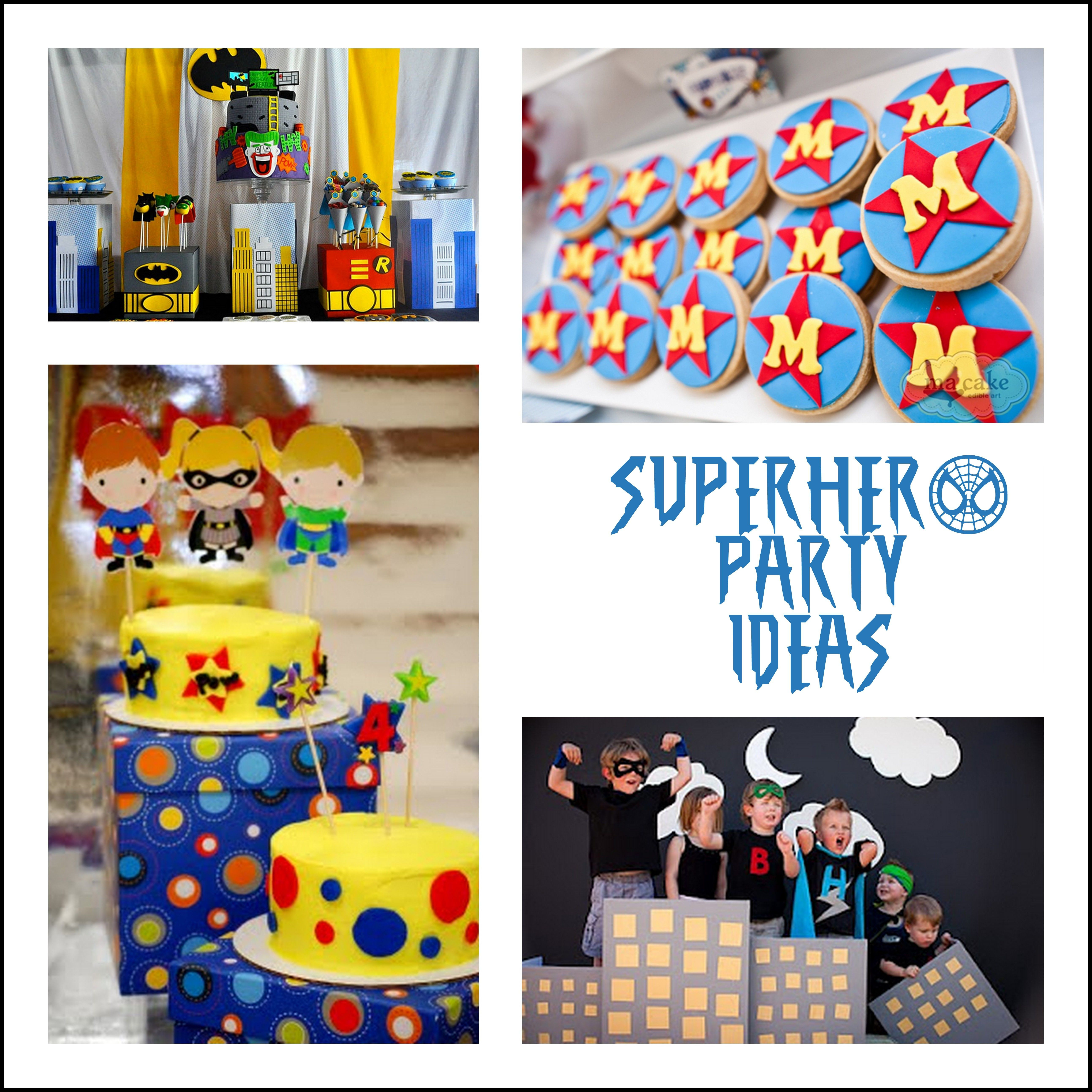 Best ideas about Superhero Birthday Party Ideas . Save or Pin superhero party ideas Make Create Do Now.
