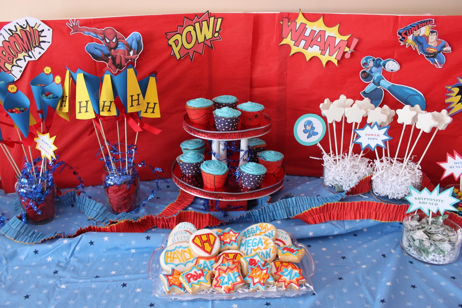Best ideas about Superhero Birthday Party Ideas . Save or Pin dandy delights custom cookie creations A Superhero Now.