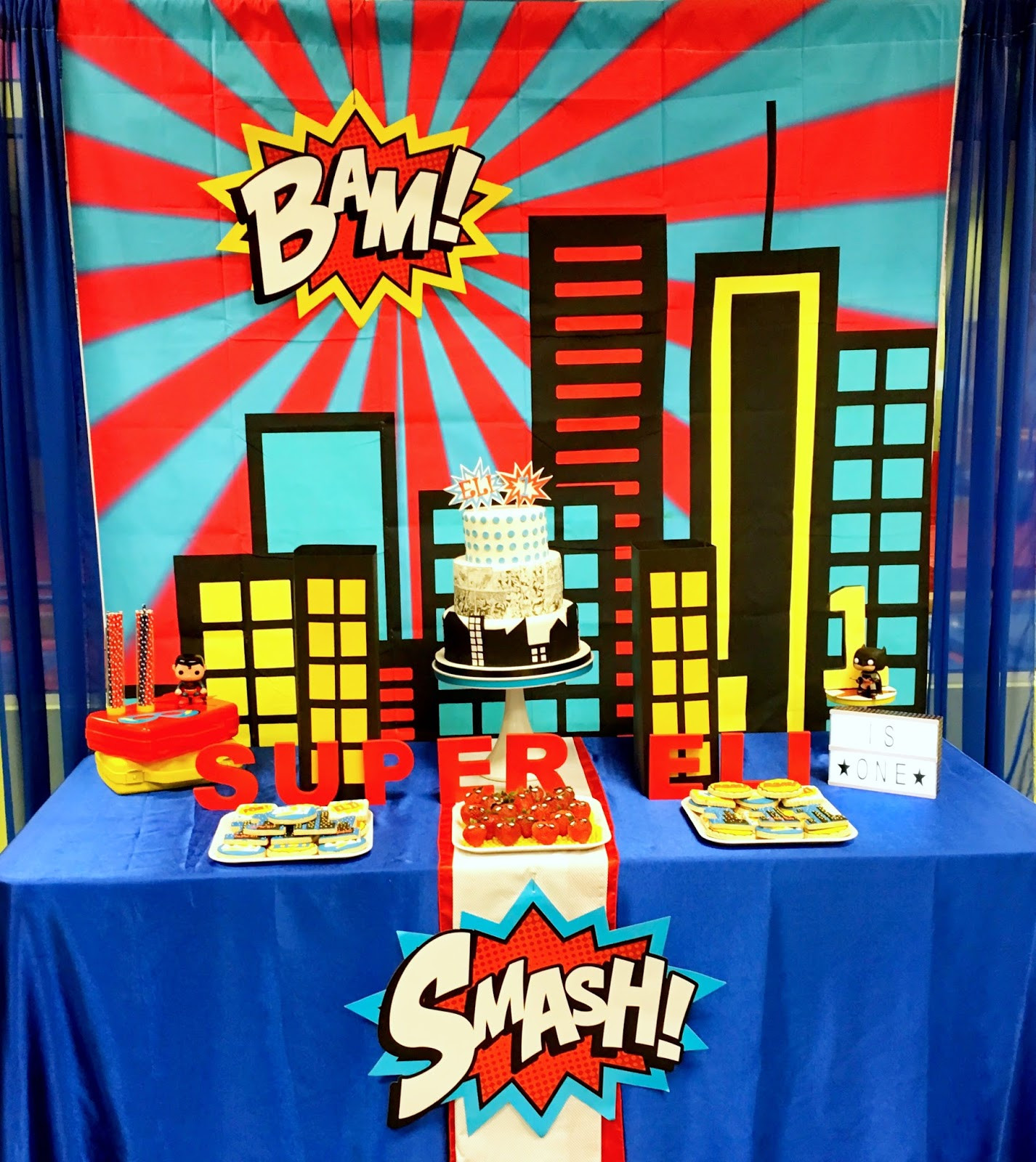Best ideas about Superhero Birthday Party Ideas . Save or Pin Superhero First Birthday Party Ideas Now.