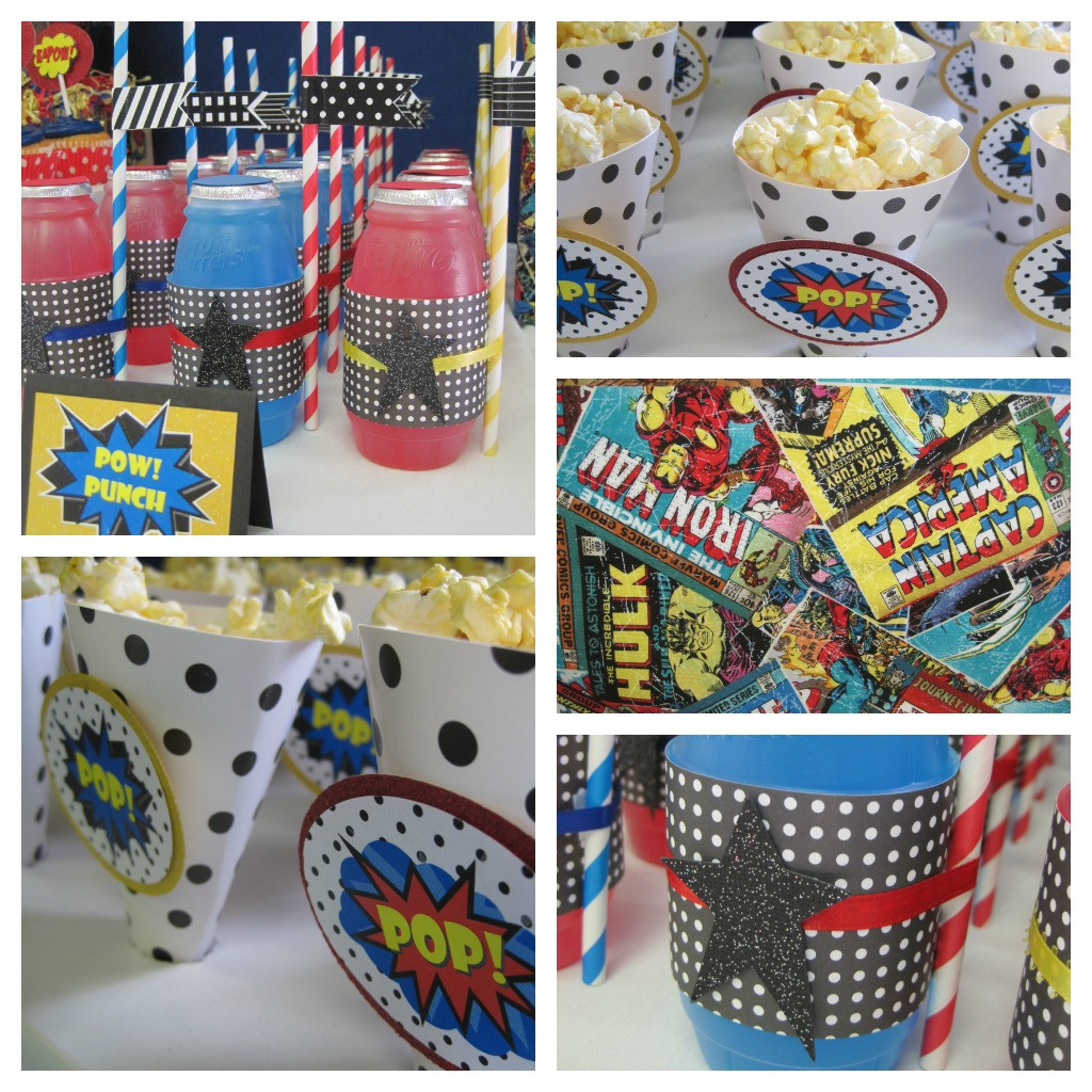 Best ideas about Superhero Birthday Party Ideas . Save or Pin Super Hero Birthday Party Ideas Dimple Prints Now.