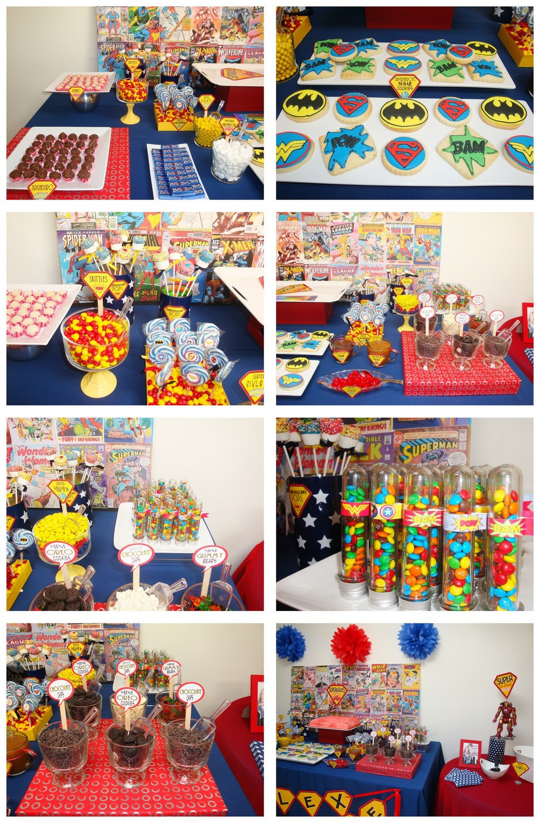 Best ideas about Superhero Birthday Party Ideas . Save or Pin sweet bambinos Real Party Superheroes Party Now.