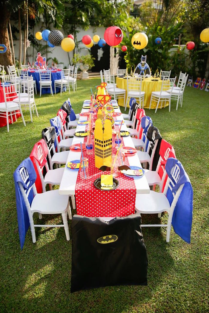 Best ideas about Superhero Birthday Party Ideas . Save or Pin Kara s Party Ideas Calling All Superheroes Birthday Party Now.