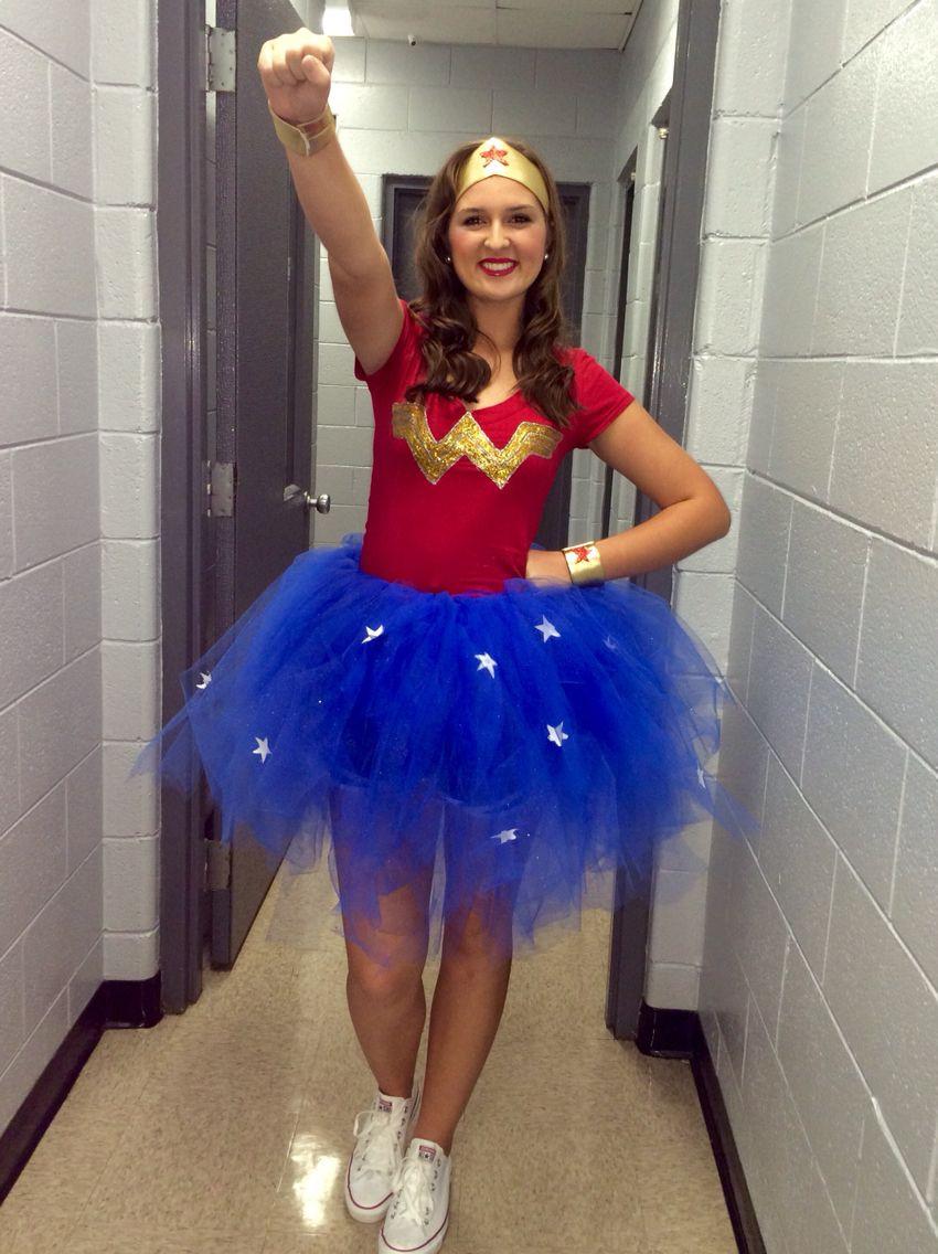 Best ideas about Superhero DIY Costume . Save or Pin WonderWoman Costume DIY too cute Now.