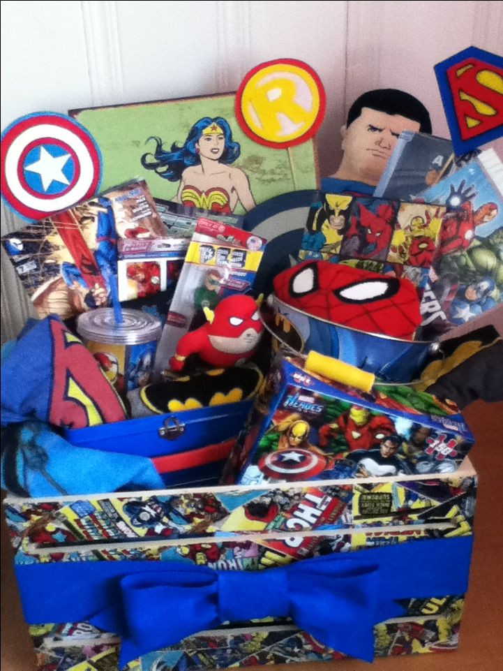 Best ideas about Superheroes Gift Ideas . Save or Pin Best 25 Themed t baskets ideas on Pinterest Now.