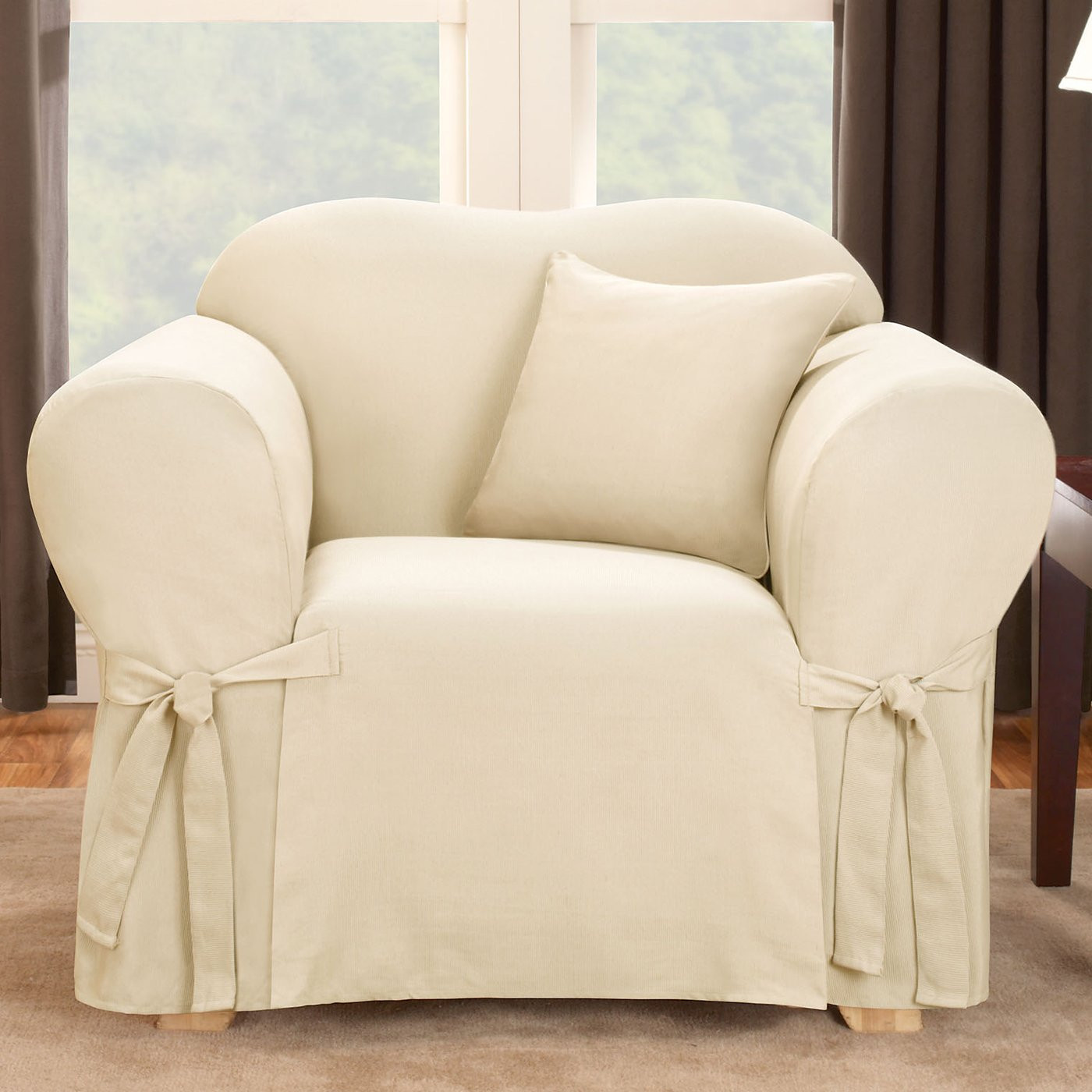 Best ideas about Surefit Chair Cover . Save or Pin Sure Fit Slipcovers Logan Chair Slipcover Now.
