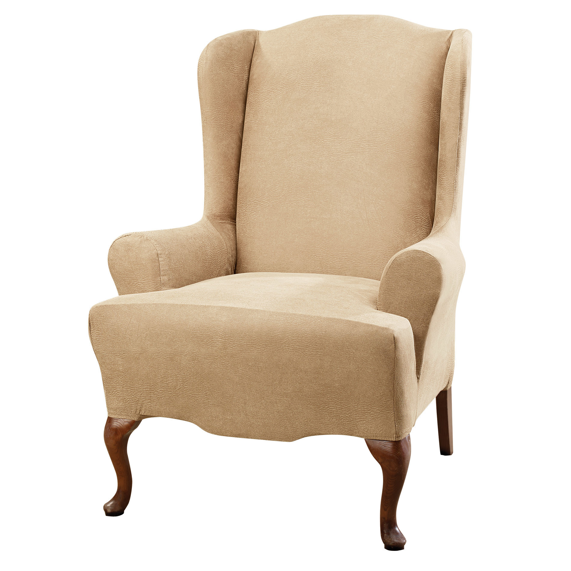 Best ideas about Surefit Chair Cover . Save or Pin Sure Fit Stretch Leather Wing Chair Slipcover & Reviews Now.