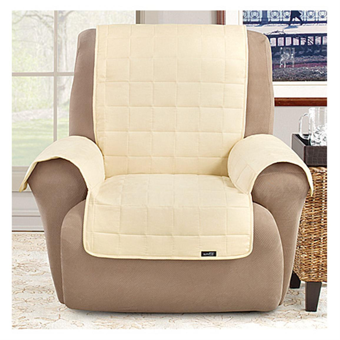 Best ideas about Surefit Chair Cover . Save or Pin Sure Fit Waterproof Pet Cover Furniture Covers Now.