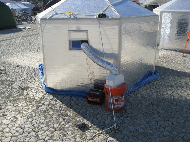 Best ideas about Swamp Cooler DIY . Save or Pin D I Y Inspired Evaporative Cooler Design for Remote Now.