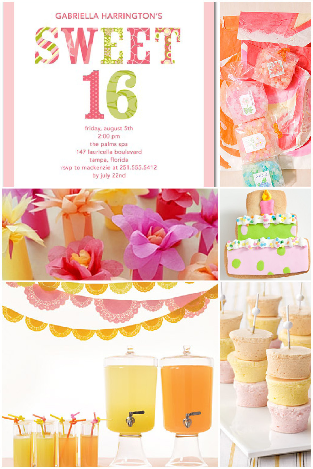 Best ideas about Sweet 16 Birthday Party . Save or Pin Sweet 16 Birthday Party Inspiration Now.
