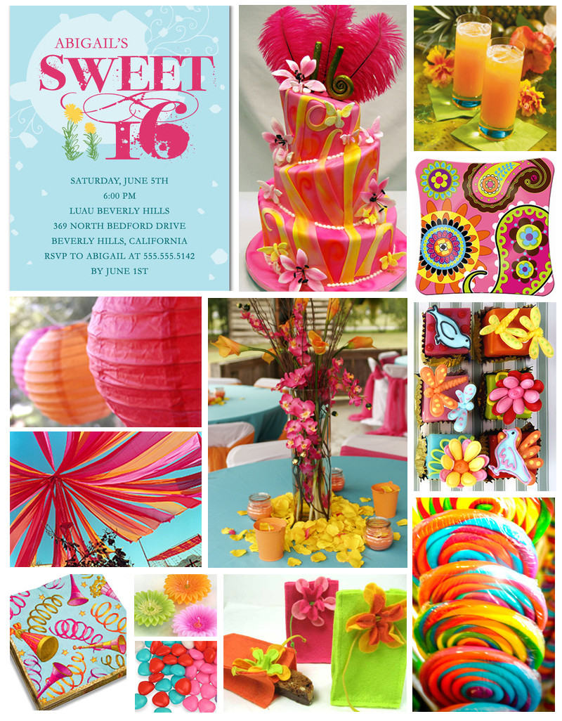 Best ideas about Sweet 16 Birthday Party . Save or Pin Sweet Parties for Sweet Sixteen Now.