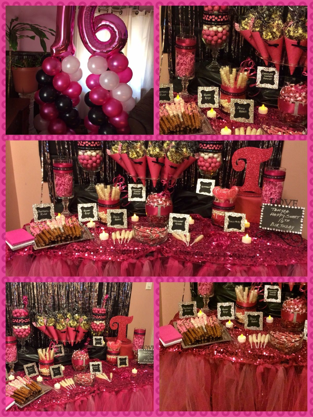 Best ideas about Sweet 16 Birthday Party . Save or Pin By Angie s Special Events and Balloons Sweet 16 party Now.