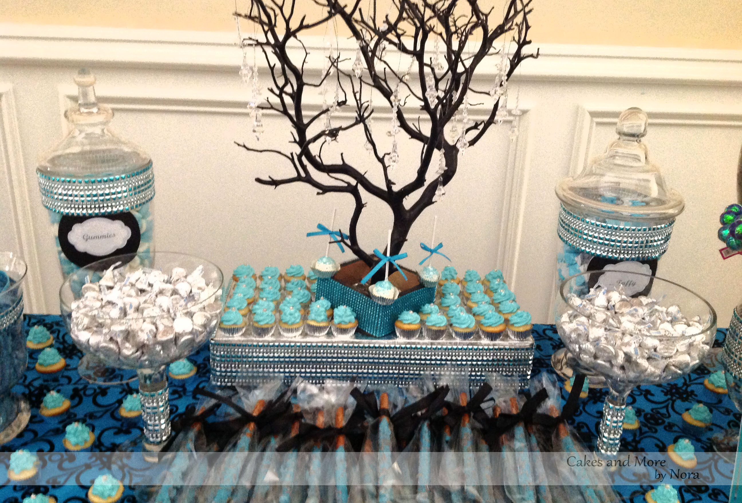 Best ideas about Sweet 16 Birthday Party . Save or Pin Masquerade Sweet 16 – Cakes and More by Nora Now.