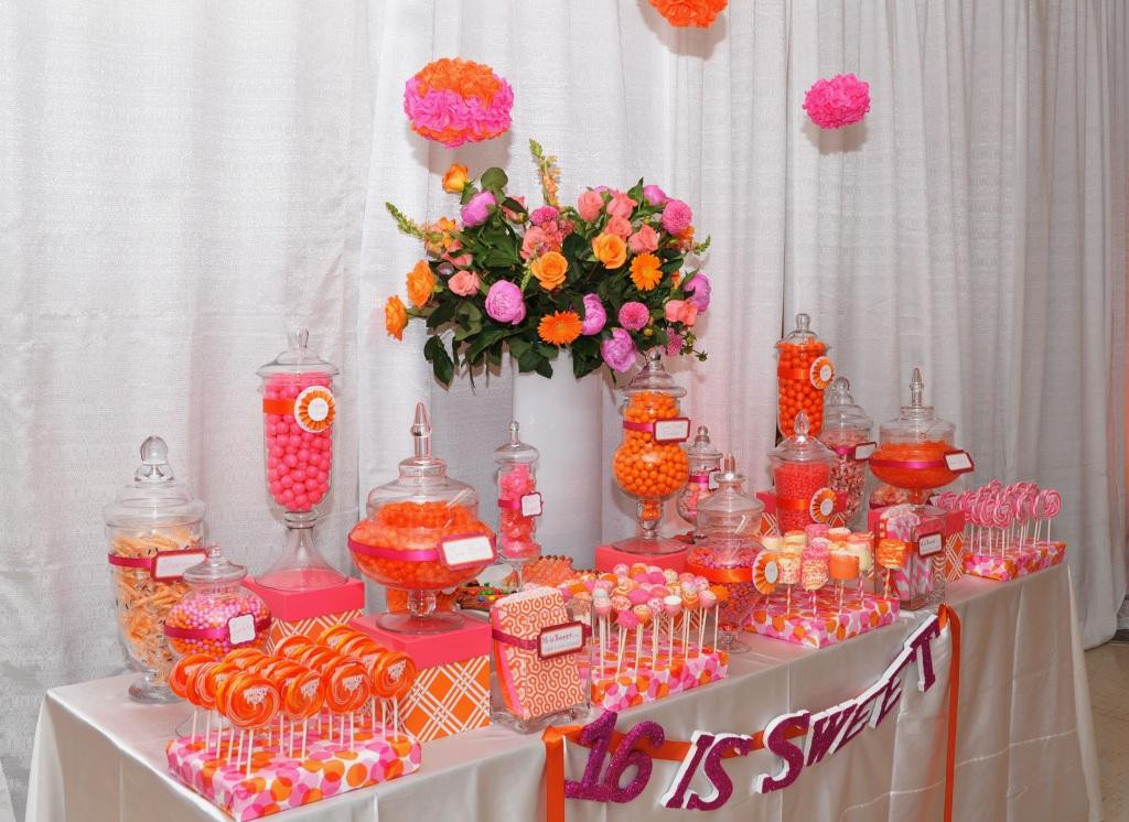 Best ideas about Sweet 16 Birthday Party . Save or Pin 10 Orange Party Ideas – A to Zebra Celebrations Now.
