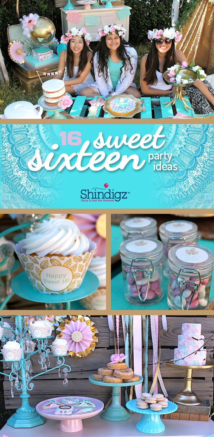 Best ideas about Sweet 16 Birthday Party . Save or Pin Best 25 Sweet 16 parties ideas on Pinterest Now.
