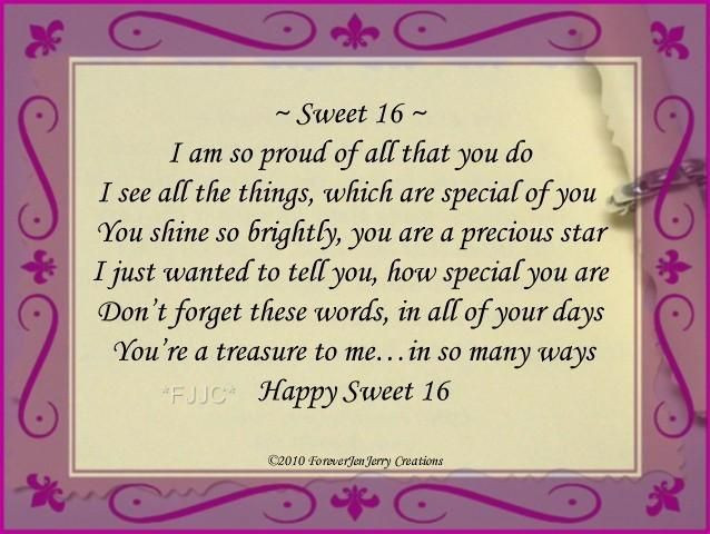 Best ideas about Sweet 16 Birthday Quote . Save or Pin Details about HAPPY Sweet 16 BIRTHDAY Bracelet Jewelry Now.