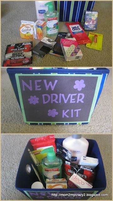 Best ideas about Sweet 16 Gift Ideas For Friend . Save or Pin Sweet 16 Gift New Driver Kit for when my sister finally Now.