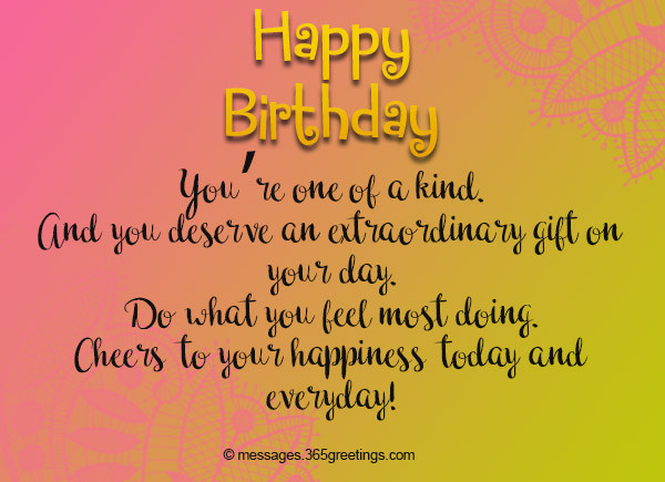Best ideas about Sweet Birthday Wishes . Save or Pin Sweet Birthday Messages 365greetings Now.