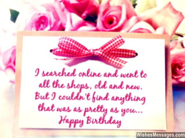 Best ideas about Sweet Birthday Wishes . Save or Pin Birthday Wishes for Girlfriend Quotes and Messages Now.