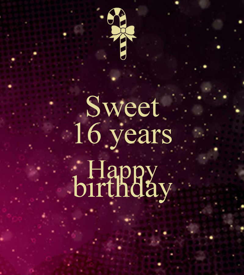 Best ideas about Sweetest Birthday Quotes . Save or Pin Sweet 16 Birthday Sayings Quotes QuotesGram Now.