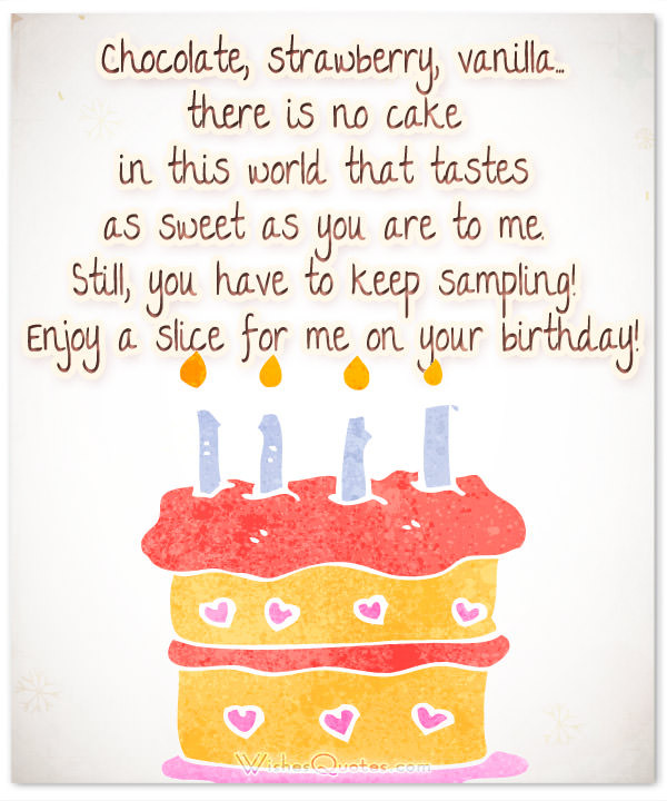 Best ideas about Sweetest Birthday Quotes . Save or Pin Romantic Birthday Cards & Loving Birthday Wishes for Fiancé Now.