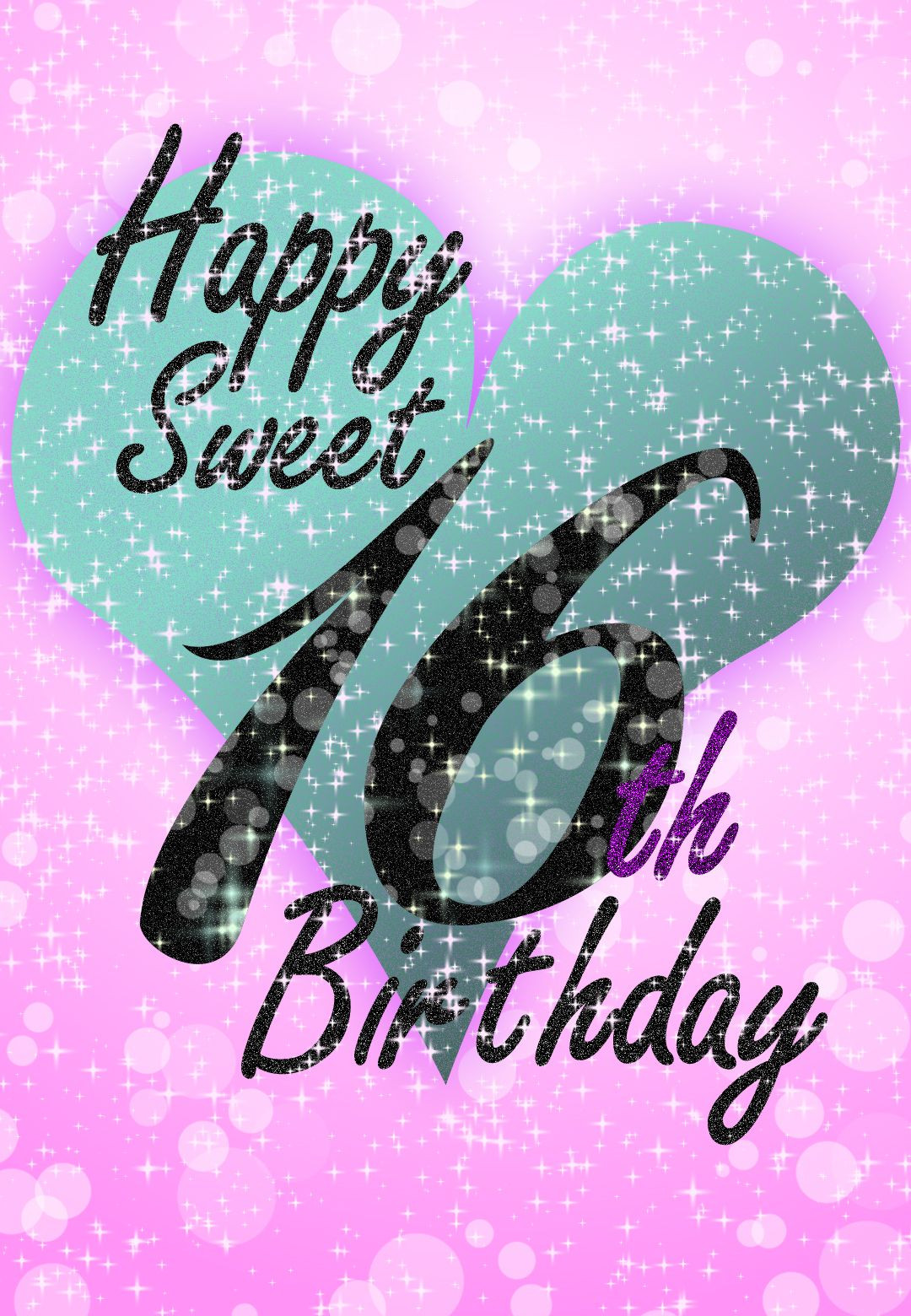 Best ideas about Sweetest Happy Birthday Quotes . Save or Pin Free Printable Sweet 16 Birthday Greeting Card Now.