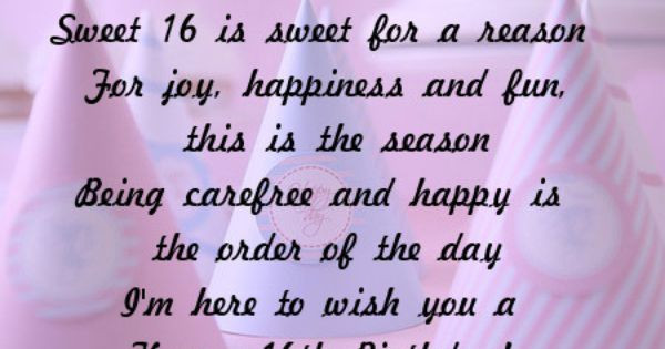 Best ideas about Sweetest Happy Birthday Quotes . Save or Pin Sweet 16 Quotes and Sayings Now.