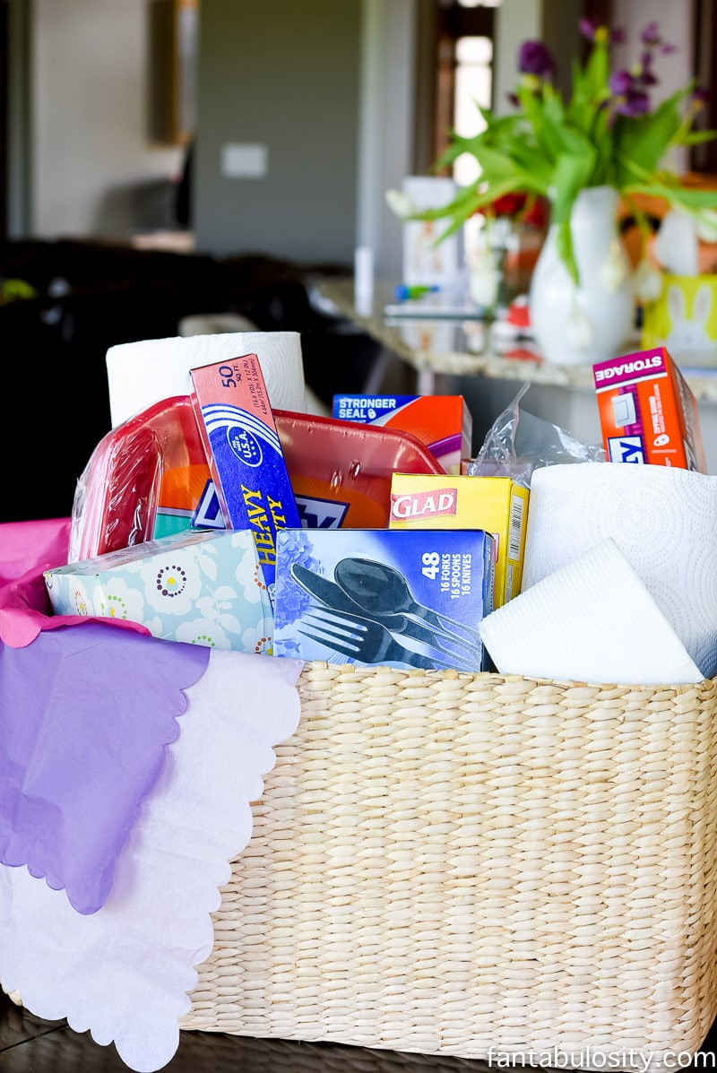 Best ideas about Sympathy Gift Ideas . Save or Pin Sympathy Gift Basket Idea Fantabulosity Now.