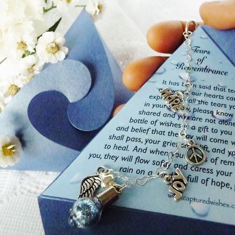 Best ideas about Sympathy Gift Ideas . Save or Pin Personalized Sympathy Gifts from Captured Wishes Now.