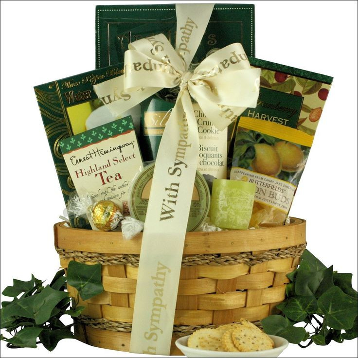 Best ideas about Sympathy Gift Ideas . Save or Pin 25 Best Ideas about Sympathy Gift Baskets on Pinterest Now.