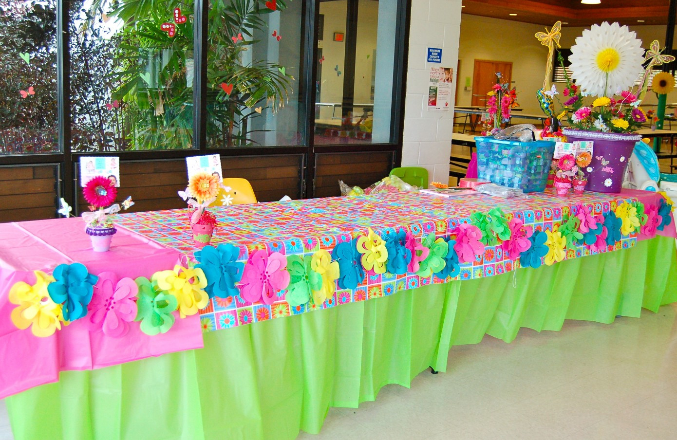 Best ideas about Table Decoration Ideas For Birthday Party . Save or Pin First Birthday Reception Table Decor DSC 1659 1 Now.