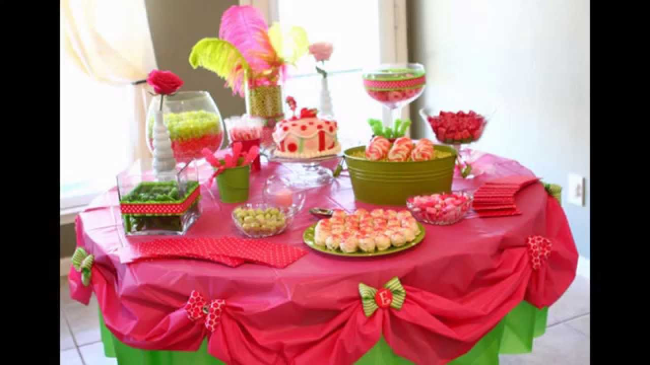 Best ideas about Table Decoration Ideas For Birthday Party . Save or Pin Home Birthday party table decoration ideas Now.