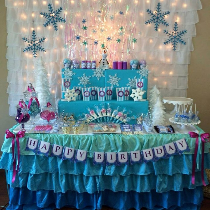 Best ideas about Table Decoration Ideas For Birthday Party . Save or Pin 10 adorable table decoration ideas for birthday party Now.