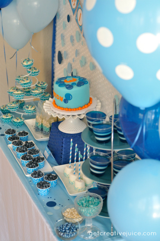 Best ideas about Table Decoration Ideas For Birthday Party . Save or Pin Bubble Birthday Party Creative Juice Now.