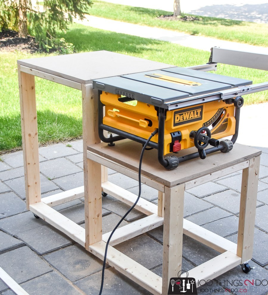 Best ideas about Table Saw Stand DIY . Save or Pin table saw stand Now.