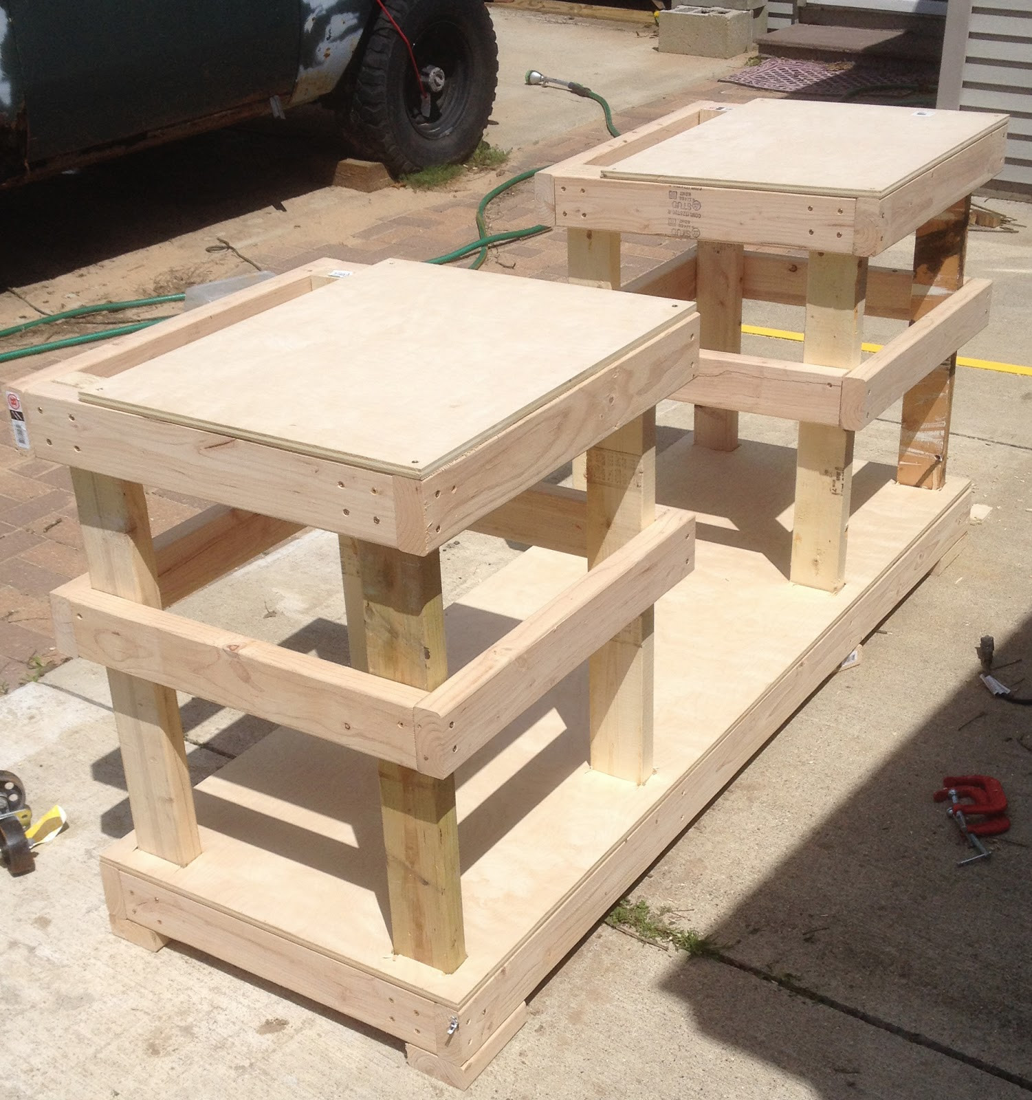 Best ideas about Table Saw Stand DIY . Save or Pin DIY Table Saw Stand on Casters Now.