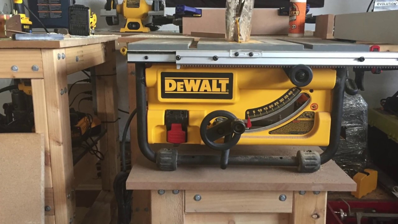 Best ideas about Table Saw Stand DIY . Save or Pin DIY 2x4 Table Saw Stand Now.