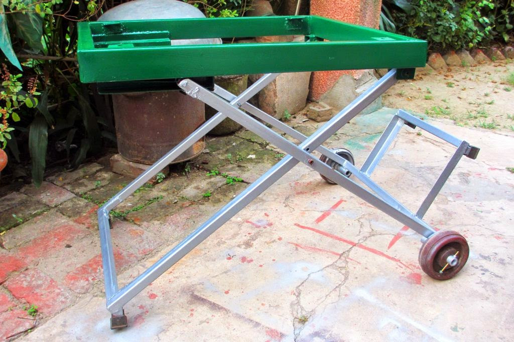 Best ideas about Table Saw Stand DIY . Save or Pin DIY Table Saw Stand Now.